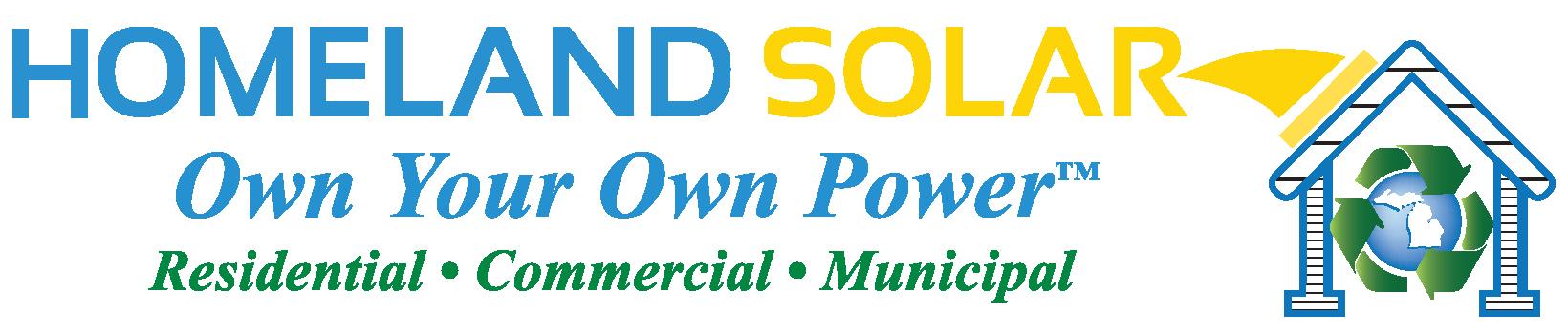 Homeland Solar Logo