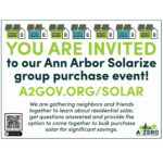 Homeland Solar Joins Ann Arbor Solarize Group-Buy Program