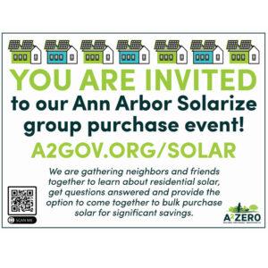 Homeland Solar Joins Ann Arbor Solarize Group-Buy Program